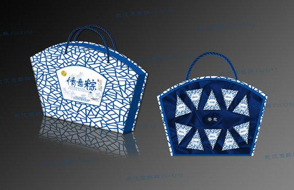 南漳粽子礼品盒——买价位合理的粽子包装礼盒,就到玉麒麟包装