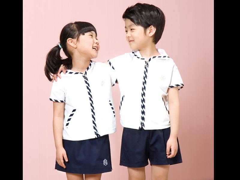 韩式校服设计图纸