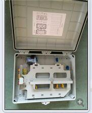 西安哪里供应的光缆分纤箱光纤入户箱更好——32芯光分路器箱供货商