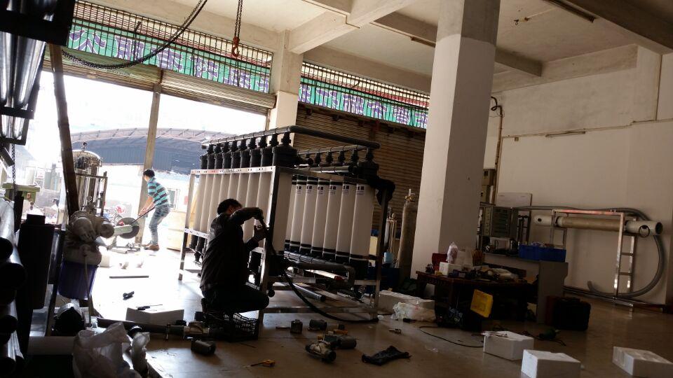 阳极氧化废水及回用工程选骊江环保
