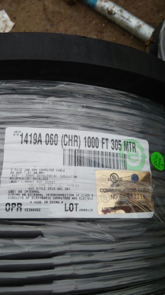美国百通电缆BELDEN9842