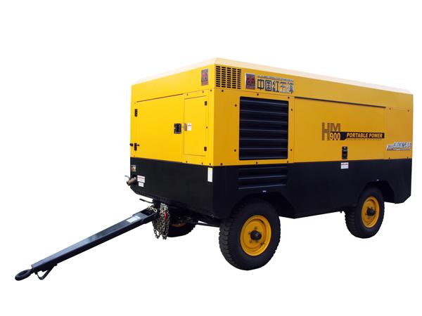 海南HM系列重载型移动螺杆空气空压机