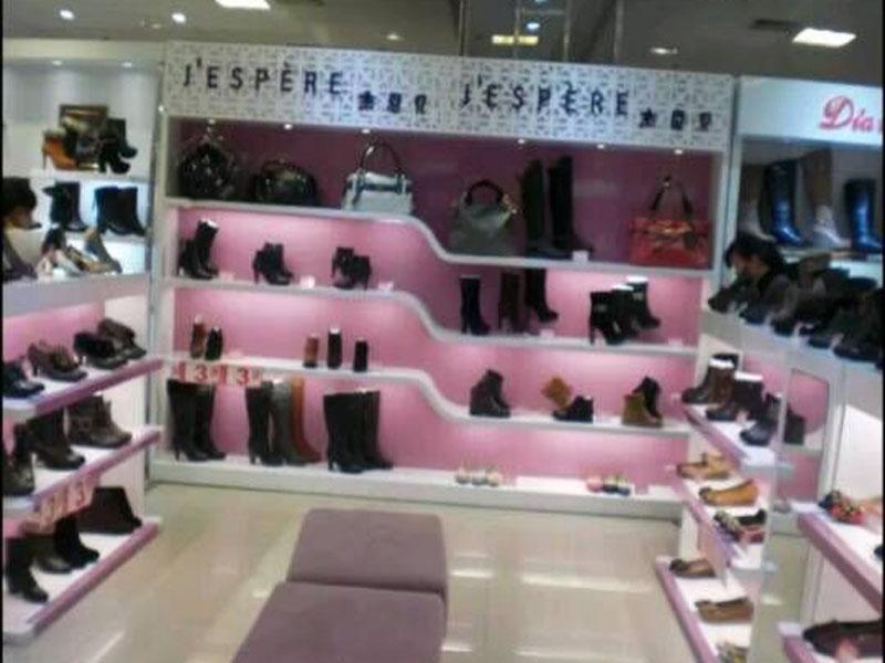 海口鞋展柜