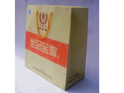 奇申印刷供应同行中优质的手提袋——金昌无碳联单
