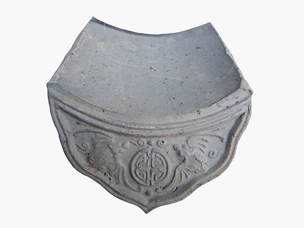 滴水青灰瓦 古建筑材料的生产销售