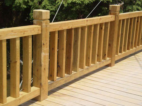 广西防腐木护栏厂家,广西哪里供应的防腐木护栏品质好