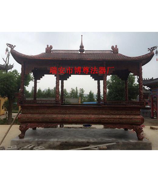 出售浙江别致的长方形铁香炉 怀柔寺庙铜铁香炉