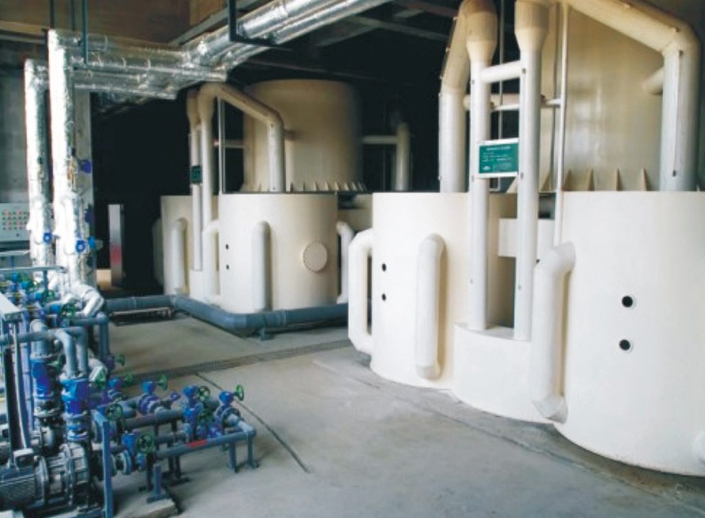 WTG系列自动曝气复合介质精滤水处理机
