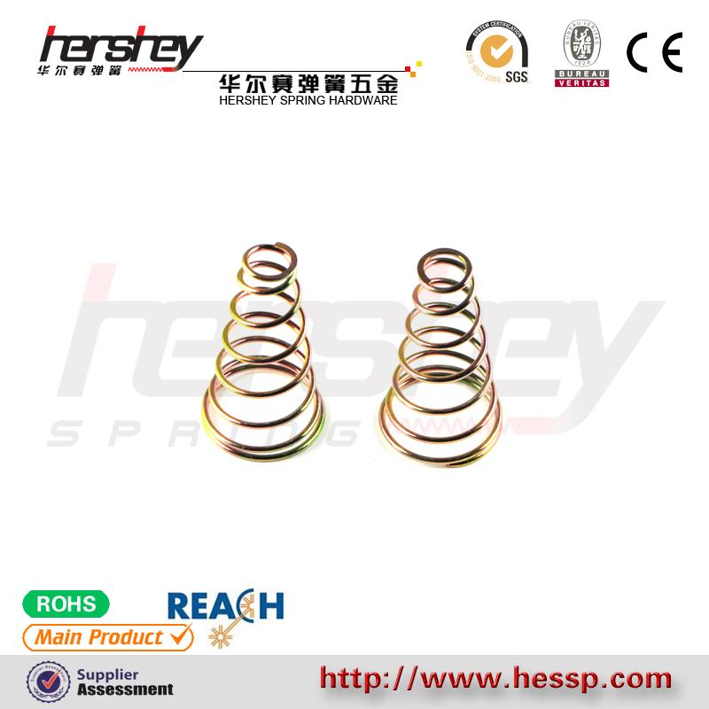 廠家批發塔形彈簧|耐用的觸摸按鍵彈簧供銷