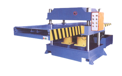 HR-04精密液压四柱平面下料机