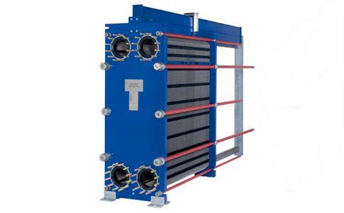 阿法拉伐地热水钛板换热器