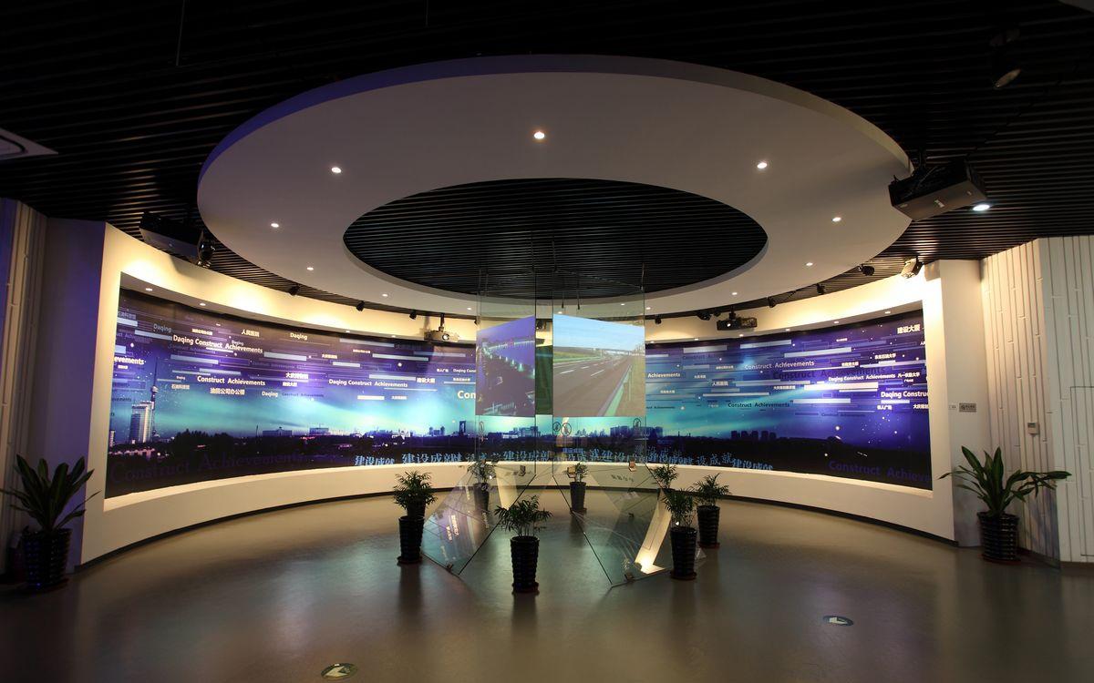 数字展厅,数字化展厅,数字化多媒体展厅