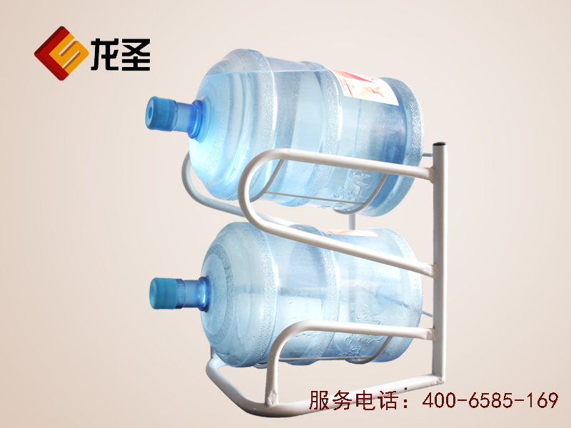 二层立式水桶架 落地桶装水架