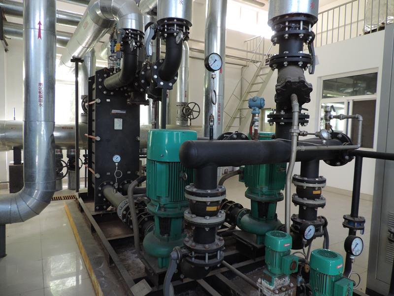 西安威孚暖通萨莫威孚板式换热机组厂家 陕西萨莫威孚板式换热器