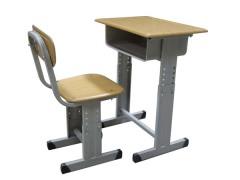 知名企业供应直销高性价课桌椅_便宜的钢木餐桌