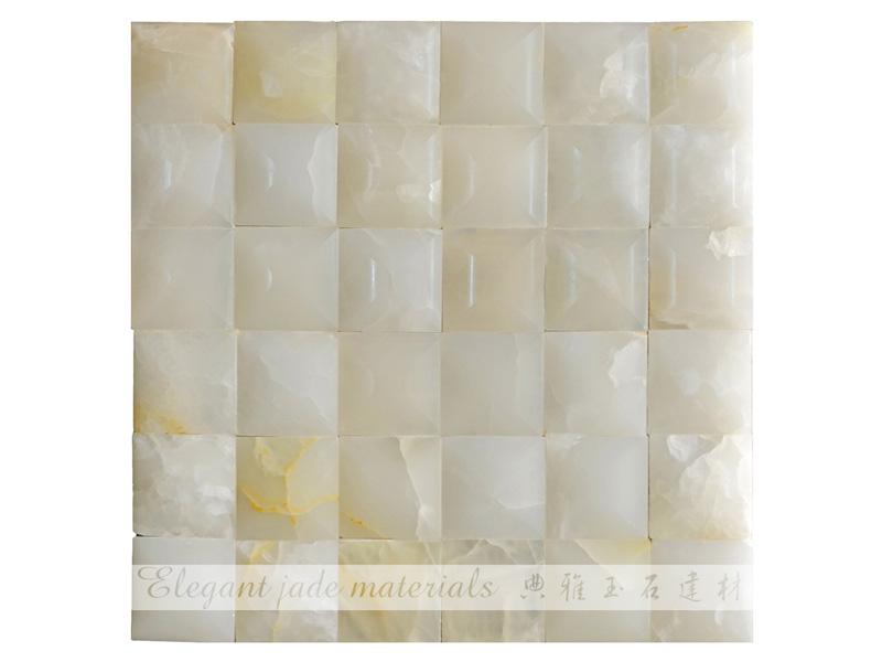 背景墙批发-【厂家直销】肇庆高质量的白玉金字塔形背景墙