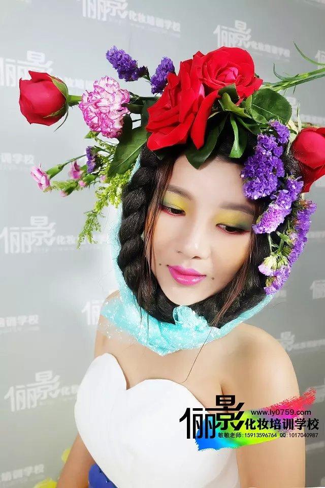 俪影初级化妆造型师设计班_值得托付_湛江化妆师