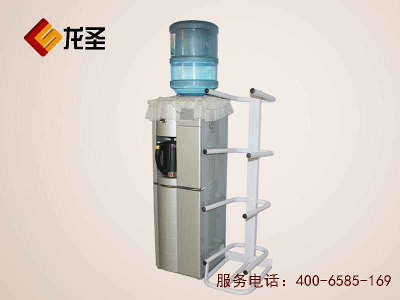 四层U型水桶架 落地桶装水支架 铁艺陈列架