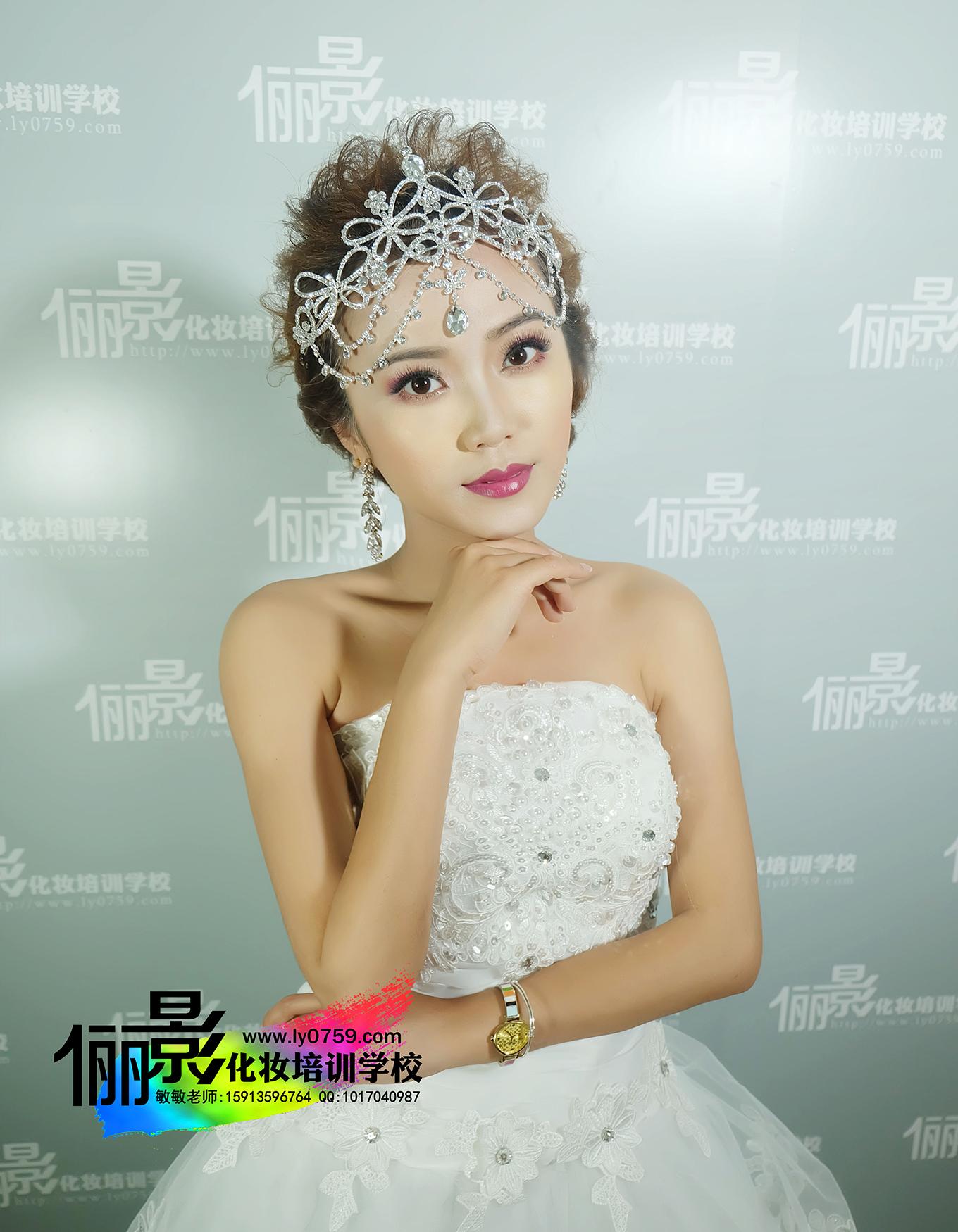 造型化妆师,选化妆造型师夜班配培训机构认准湛江俪影化妆美容培训学校