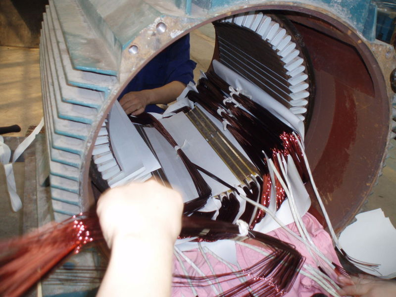各种大型电机维修