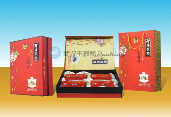 武汉玉麒麟专业生产各种高档茶叶包装盒