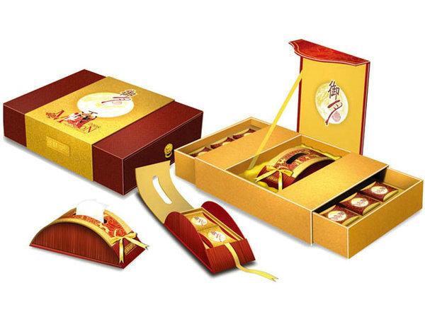 高档月饼包装盒设计生产请找武汉玉麒麟包装
