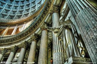 南宁欧式构件 罗马柱 GRC装饰构件