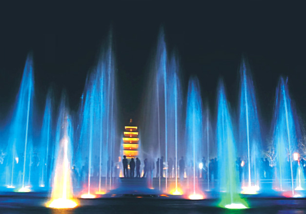 程控喷泉/编程喷泉设计施工