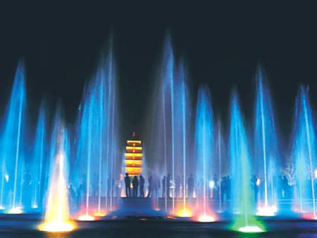 水景喷泉业务