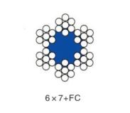 6*7+FC不锈钢丝绳