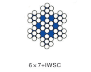 6*7+IWSC不锈钢丝绳