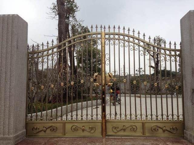 [供应]福州物超所值的别墅院门——宁波欧式不锈钢门