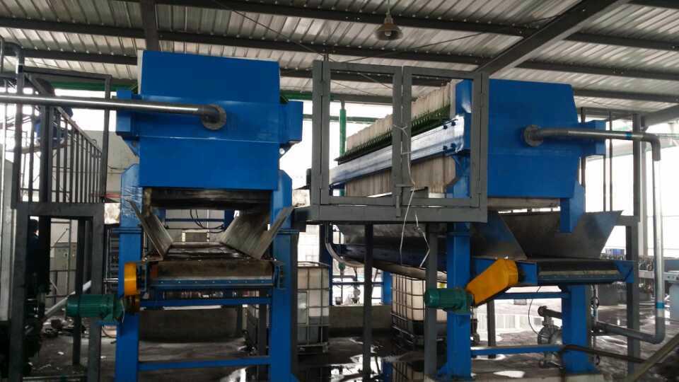厂价直销-自动拉板全自动压滤机(废水、冶金选矿的)