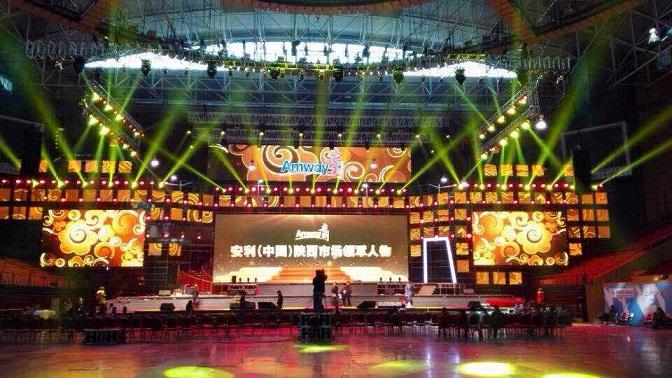 西安价格优惠的舞台灯光音响设备租赁-舞台租赁工程公司