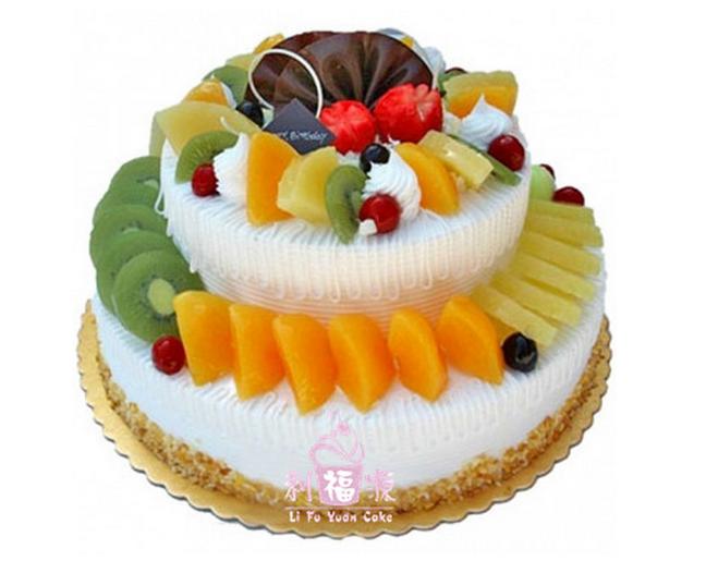 网上订购水果生日蛋糕 蛋糕送货上门