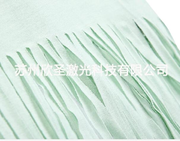 想找专业的激光切割流苏加工当选苏州欣圣——杭州激光切割流苏
