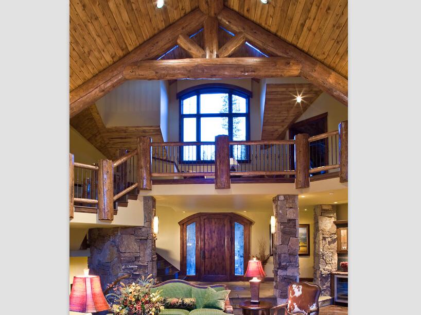 木结构别墅室内装修最新资讯