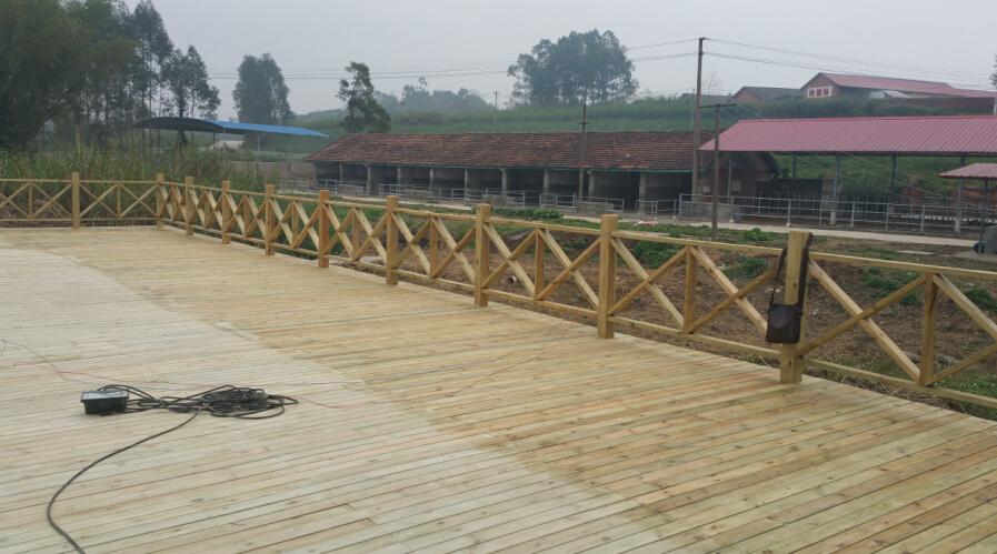 南宁户外木地板安装 优质防腐木地板阳台-258