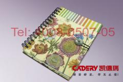 厦门凯德瑞印刷包装提供优质的笔记本 莆田笔记本设计