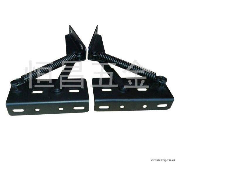 厂家直销各种多功能家具配件 黑色沙发铰 弹簧铰 沙发铰