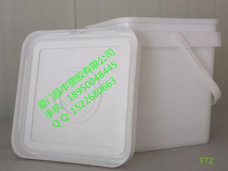 2公斤方形桶塑料桶密封桶食品桶