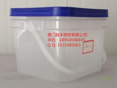 8公斤方形桶塑料桶食品桶密封桶
