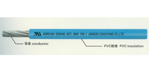 供应泰州耐用的UL1430聚氯乙烯绝缘电线——聚氯乙烯绝缘电线信息