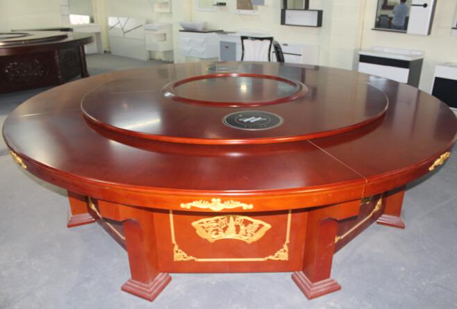 南寧實木餐桌批發-南寧知名的南寧酒店實木電動餐桌供貨廠家