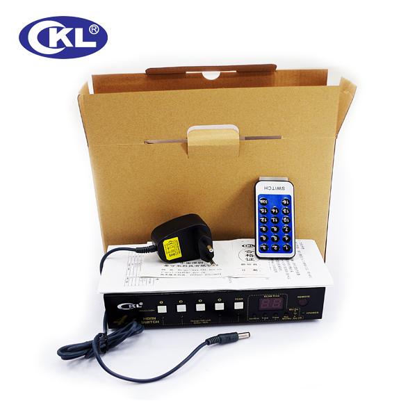 HDMI切换器4进1出 HDMI分配器_CKL品牌