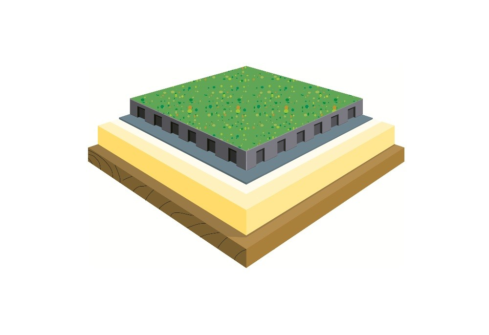 绿色屋面种植系统设计与施工