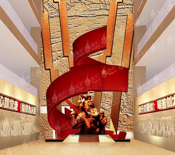 创新型的廉政文化走廊 廉政文化走廊建设策划找成都烽火_专业可靠