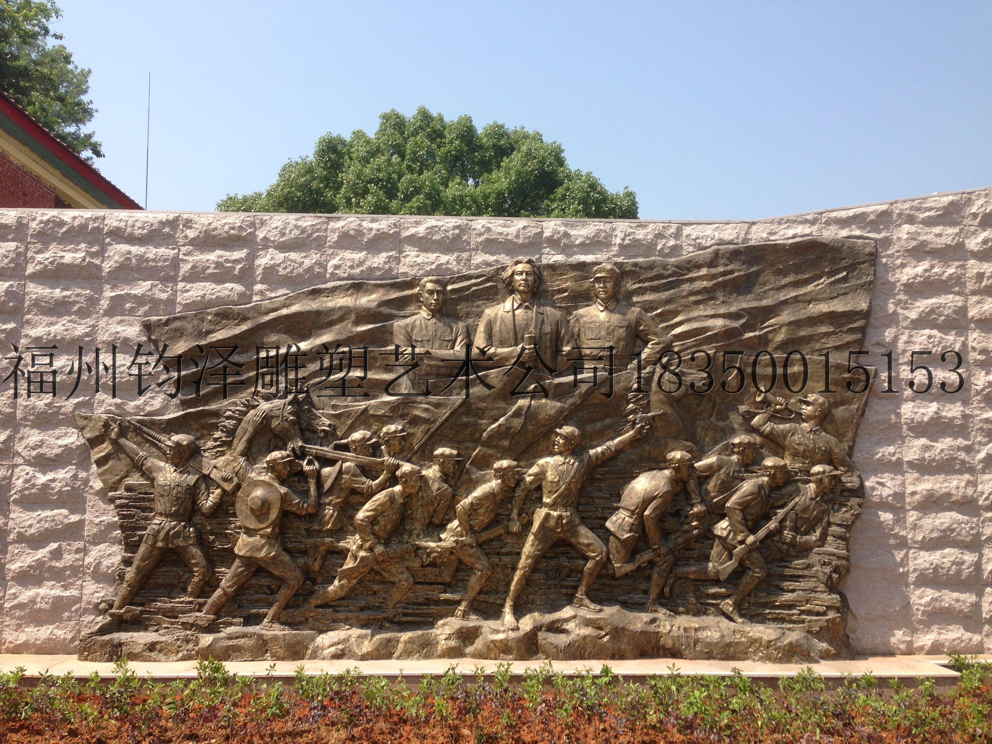 福州雕塑 假山雕塑 人像雕塑