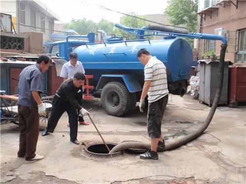 广州黄埔区开创大道高压车疏通管道