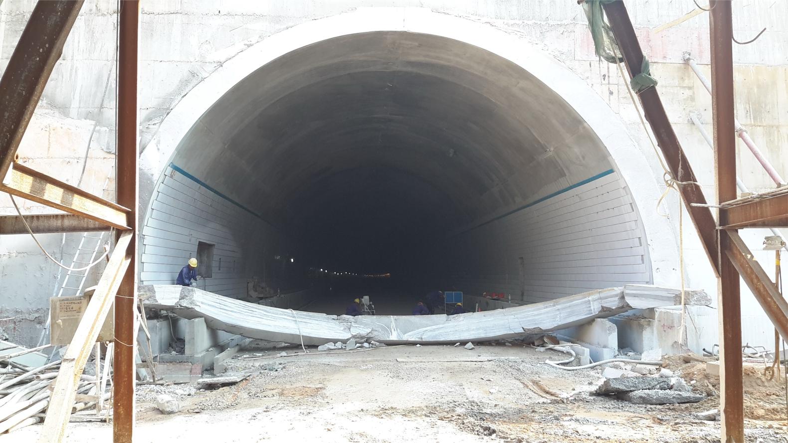 隧道切割工程